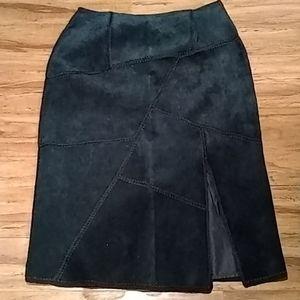 Dresses & Skirts - S.M.H black maxi leather skirt